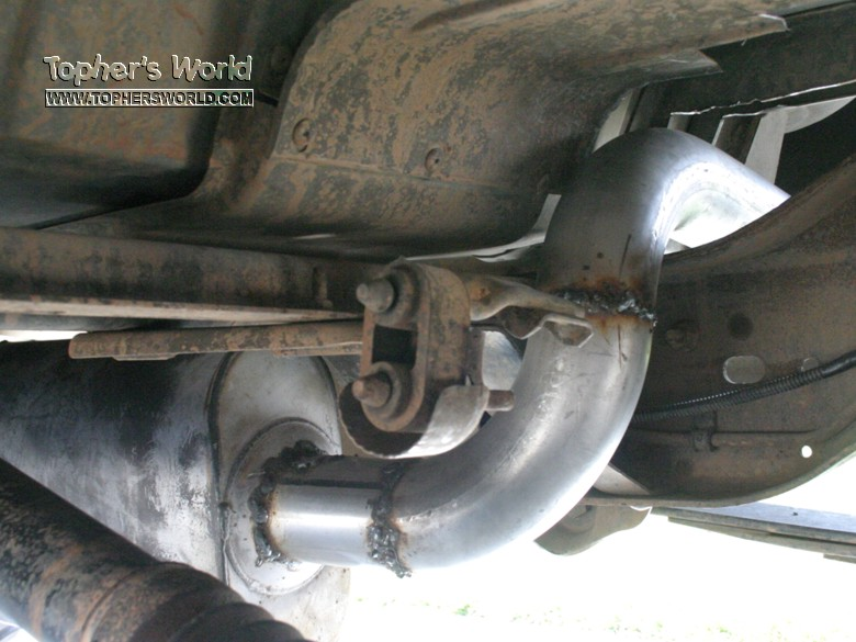 Drive Shaft Hits Exhaust Ford Bronco Forum