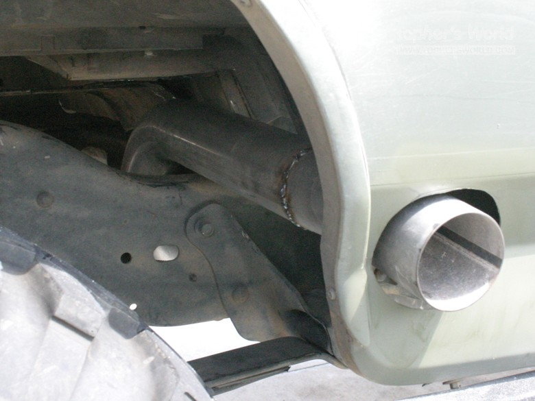 Exhaust Rebuild Y Pipe On Back Ford Bronco Forum